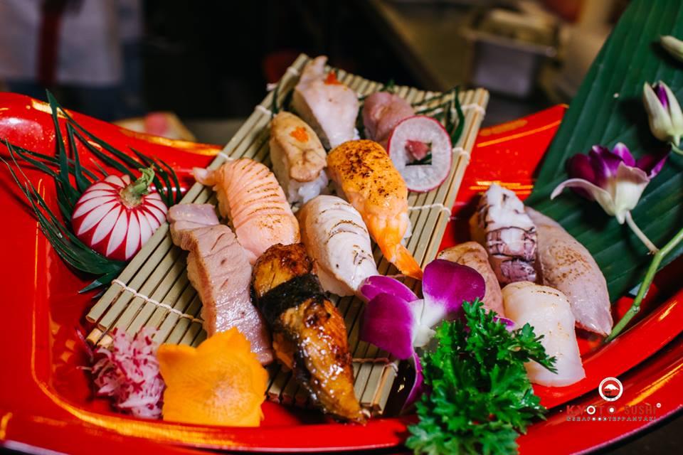 những lưu ý khi ăn Sushi