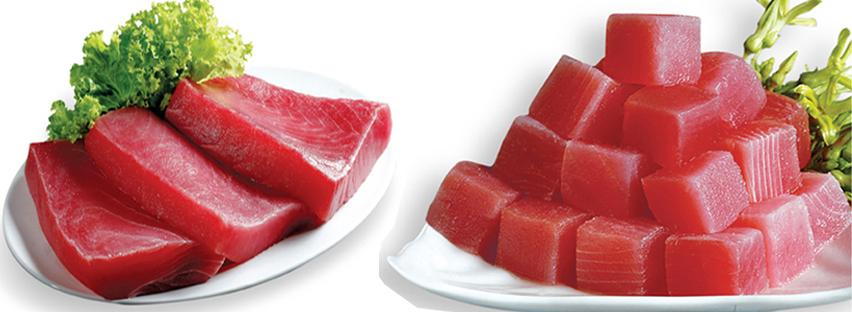 nguyên liệu làm sushi cá ngừ