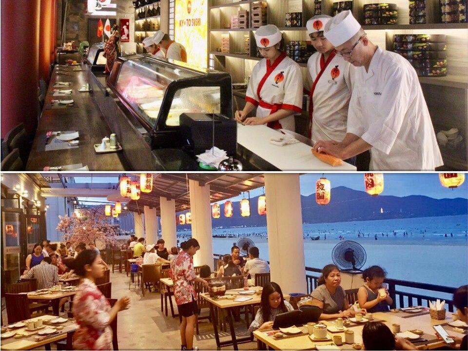 Kyoto Sushi - Địa điểm thưởng thức ẩm thực Nhật nổi tiếng tại Đà Nẵng